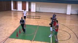 des exercices pour entrainement pivot | handball