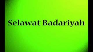 Gambar cover Selawat Badariyah