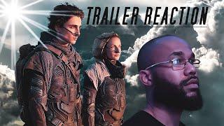 Dune - Official Trailer Reaction (2020) | #Dune #DuneTrailer #Movies