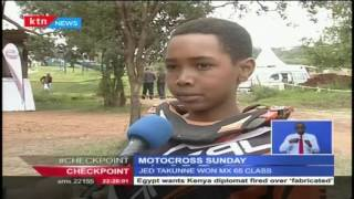 Kenya Motorcross championship continued in Nairobi as Rolf Kihara kept his star shining