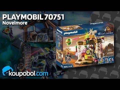 Vidéo PLAYMOBIL Novelmore 70751 : Sal'ahari Sands - Temple des Squelettes