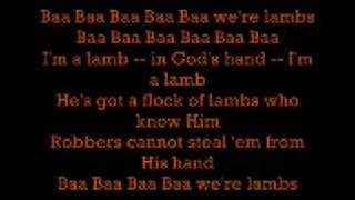 Baa we're lambs Lyrics - video