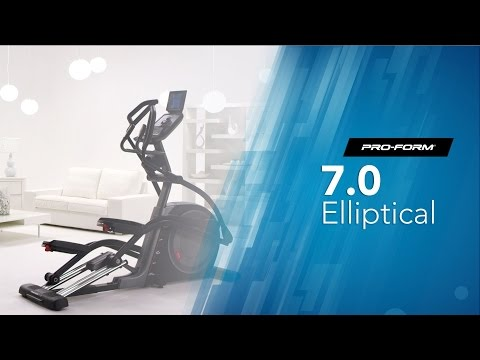 ProForm Trainer 7.0 Elliptical - Presentation