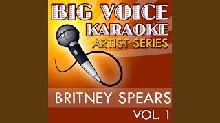 Break the Ice (In the Style of Britney Spears) (Karaoke Version)