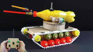 How to make a TANK on a do-it-yourself control panel at home.
