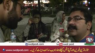 Tourist Enjoy Swat Valley and Foods