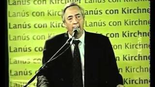 Fragmentos De Algunos Discursos Del Ex Presidente Néstor Kirchner