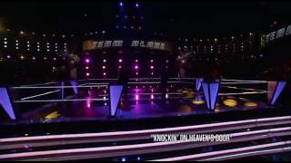 The Voice Usa - Brian Johnson & Joshua Davis (Knockin' on Heaven's Door)