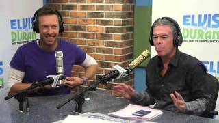 Chris Martin - Brightens Our Day and Discusses New Abum | Elvis Duran Show