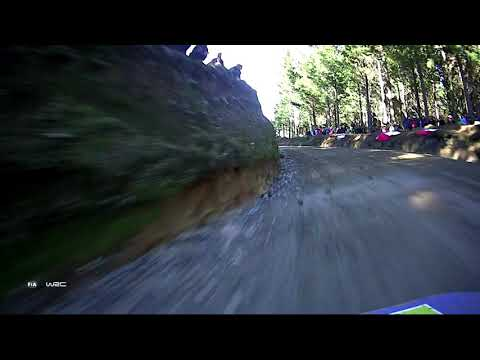 WRC - Copec Rally Chile 2019/ M-Sport Ford WRT: ONBOARD Evans