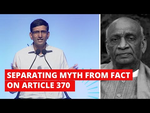 ICYMI: Military Historian Separates Myth From Fact On Article 370 in This Lecture
