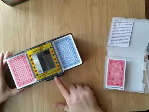 Test Kartenmischmaschine von Relaxdays