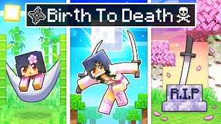 BIRTH To DEATH of a NINJA In Minecraft!