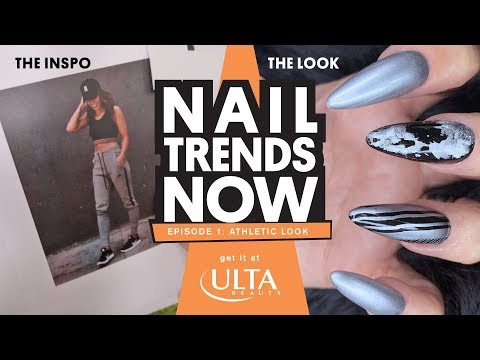 NAIL TREND NOW - ATHLETIC LOOK - ULTA BEAUTY LOOK