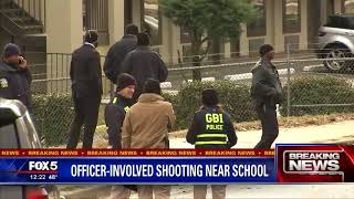 Officer-involved shooting near school