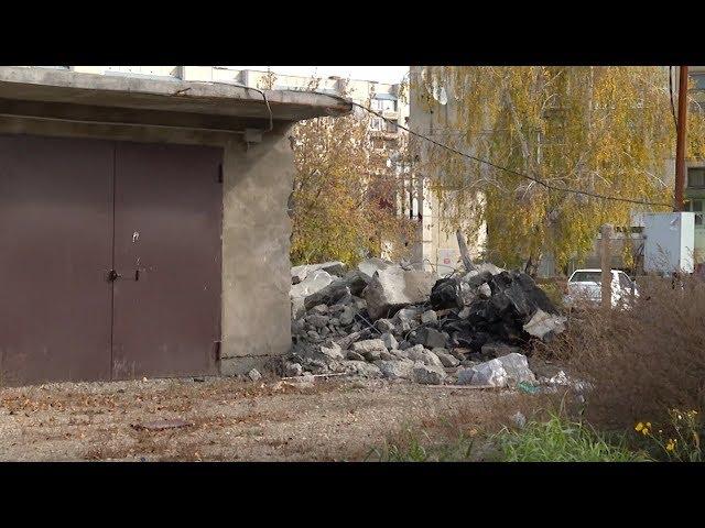 В Ангарске снова сносят незаконные гаражи