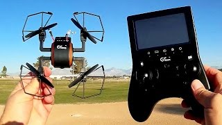 GTeng T901F 5.8Ghz FPV Micro Drone Flight Test Review