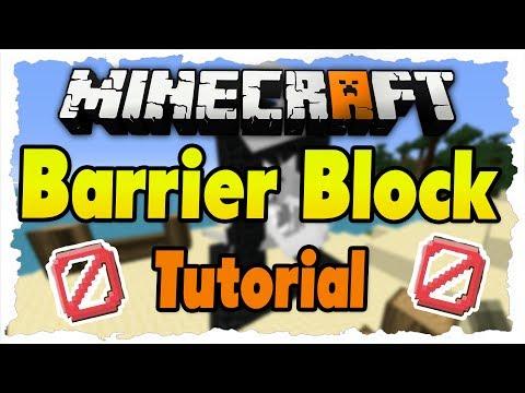 MINECRAFT 1.8 Tutorial - Barrier-Block (Unsichtbare Barriere)