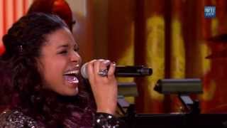 "Jordin Sparks performs ""You Can't Hurry Love"" 