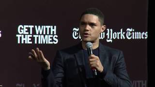 Trevor Noah and John Eligon Discuss Race and Identity In America | Get With The Times