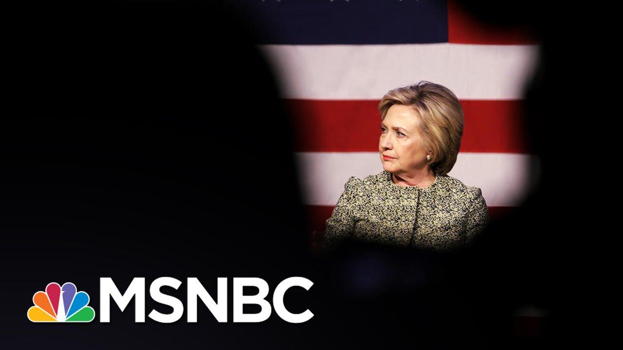 Hillary Clinton, Donald Trump Struggle With Negative Ratings | Andrea Mitchell | MSNBC thumbnail