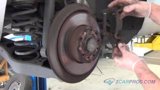 Brake Pad/Brake Rotor Replacement - Rear