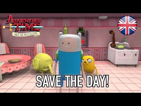 Adventure Time Finn & Jake Investigations - Save the day! (English) thumbnail