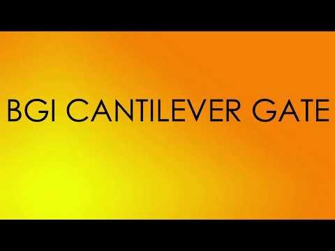 Heavy Duty Cantilever Sliding Gate