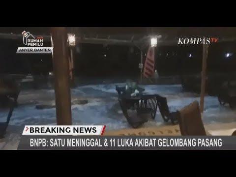 Air Laut Anyer Naik, Diduga Tsunami - #BREAKINGNEWS