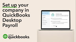 How to set up your company in the QuickBooks Desktop Payroll setup wizard