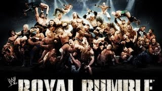 WWE Royal Rumble Live Stream!! - WWE 13 PPV Predictions Machinima