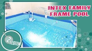 Intex Frame Pool      Aufbau/ Anleitung / Maße / Befüllen