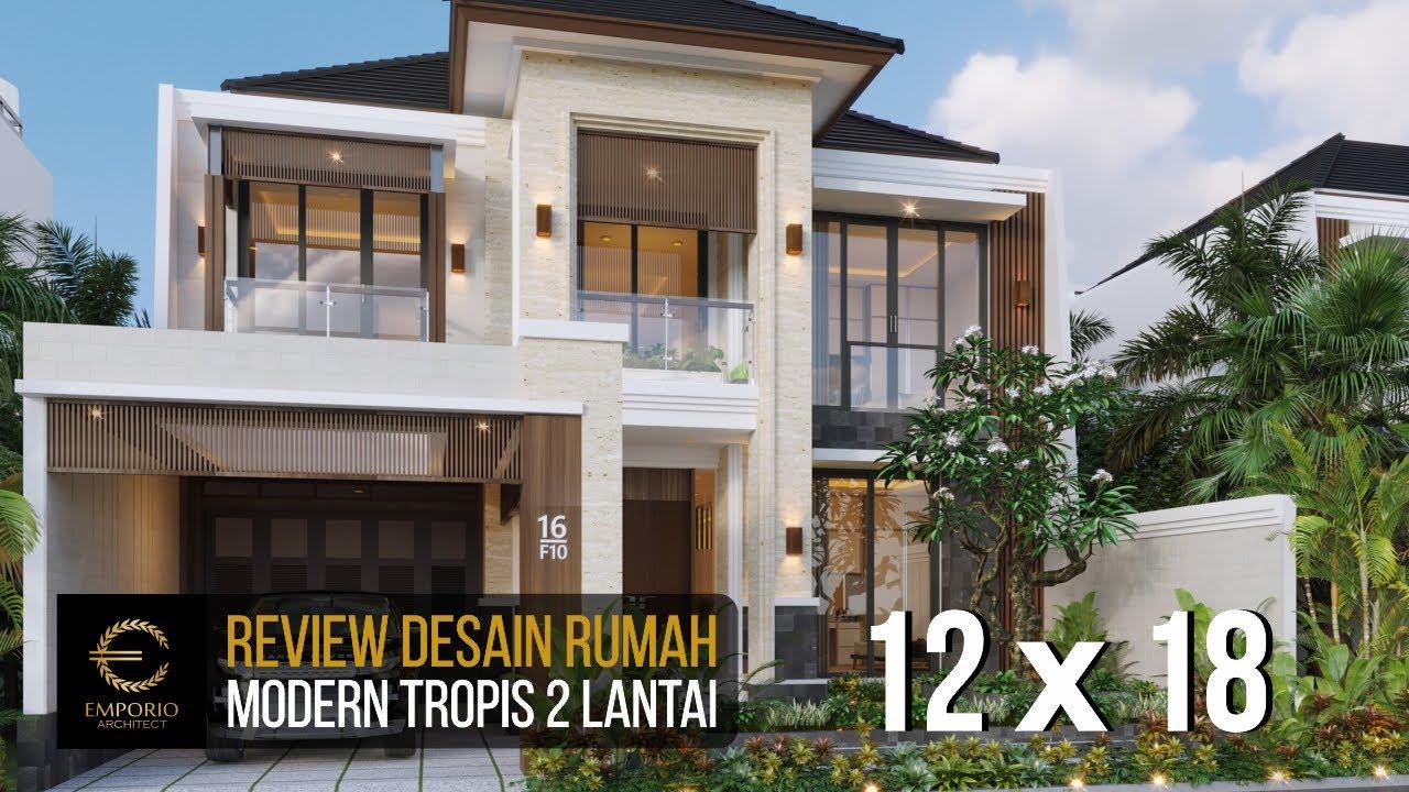 Video 3D Desain Rumah Modern 2 Lantai Bapak Dadi di Bekasi, Jawa Barat