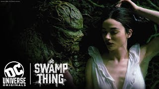 "VIDEO: DC SWAMP THING – ""Water Embrace"" Clip"