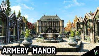 ARMERY MANOR: Unique Player Home!!- Xbox Modded Skyrim Mod Showcase