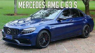 Avaliação: Mercedes-AMG C 63 S