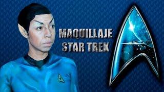 MAQUILLAJE SPOCK STAR TREK