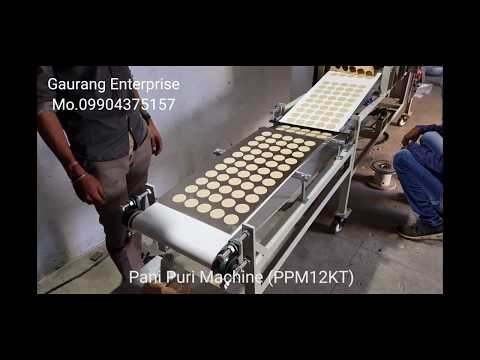 Automatic Pani Puri Machine