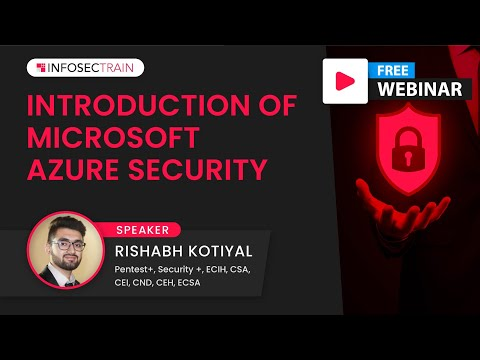 Introduction of Microsoft Azure Security | What is AZ-500? | How to ...