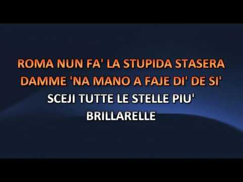 , title : 'Aa. Vv. - Roma nun fa la stupida stasera (Video karaoke)'