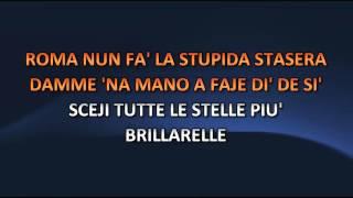 Aa. Vv. - Roma nun fa la stupida stasera (Video karaoke)