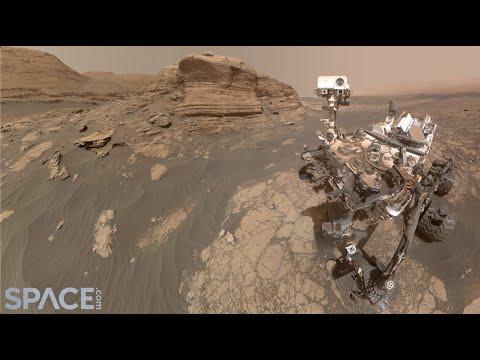 מאדים: מראות מרהיבים ממכתש הגאלה • צפו