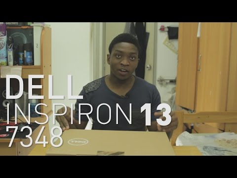 Dell Inspiron 13 7348 Unboxing and First Look | 5TH GEN CORE i5