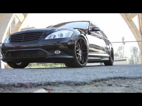 Vertini Wheels Concave Magic Sit on Mercedes Benz S550