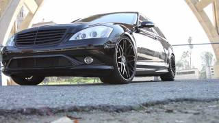 Vertini Wheels Concave Magic Sit on Mercedes Benz S550