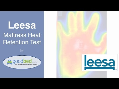 Leesa Mattress Heat Retention Test (VIDEO)