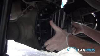 Differential Fluid Service Chevrolet 2500HD