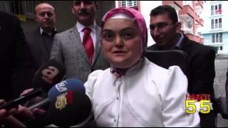SAMSUN'DA YAŞAYAN ENGELLİ ÇİFTE AKÜLÜ ARAÇ HEDİYE EDİLDİ...