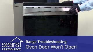 Oven Door Won't Open: Troubleshooting Door Lock Problems