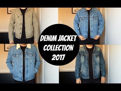 MY DENIM JACKET COLLECTION 2017! (Levi's Sherpa, Truckers & Comune Jackets)
